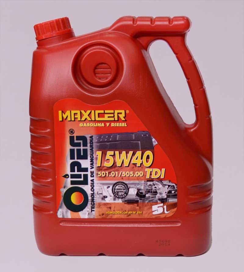 Aceite lubricante Diesel 15x40 - 15.50€