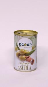 ACEITUNAS RELLENAS DE ANCHOA - Dcoop 300 grs. - 0.85€